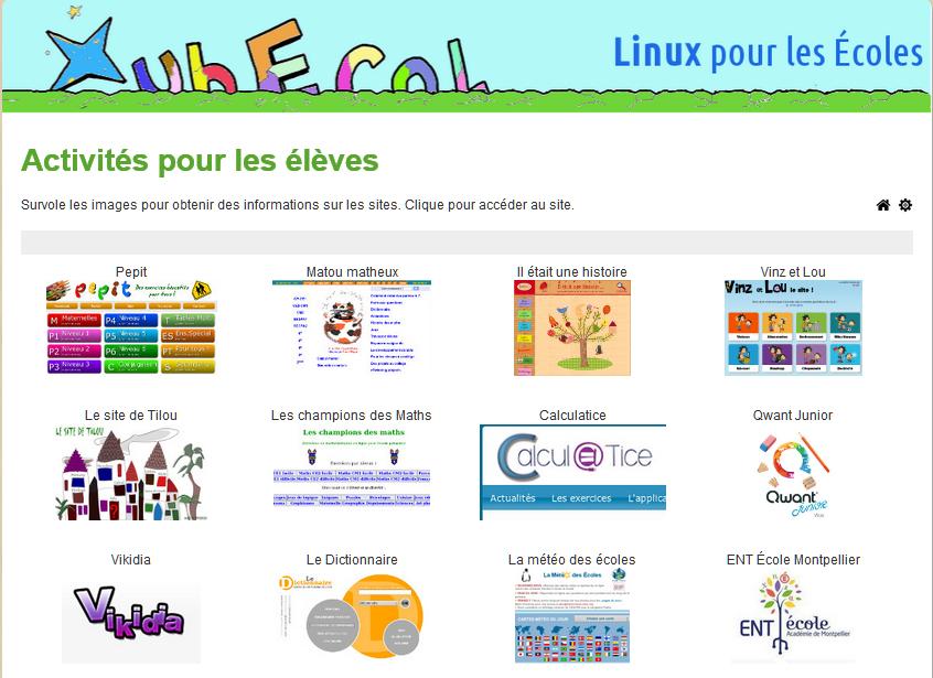 123 sites proposés par XubEcol