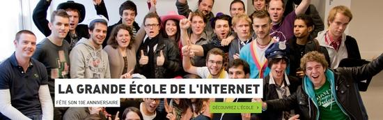 HETIC, la grande école de l'internet