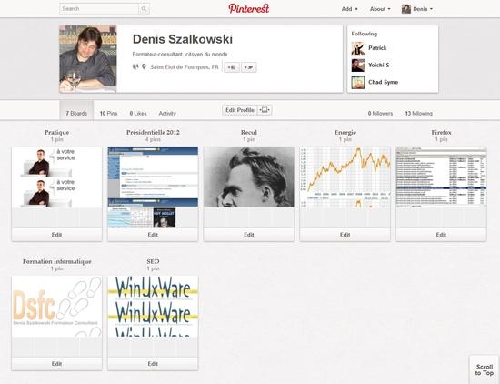 Pinterest : un autre réseau social où l'image est roi !