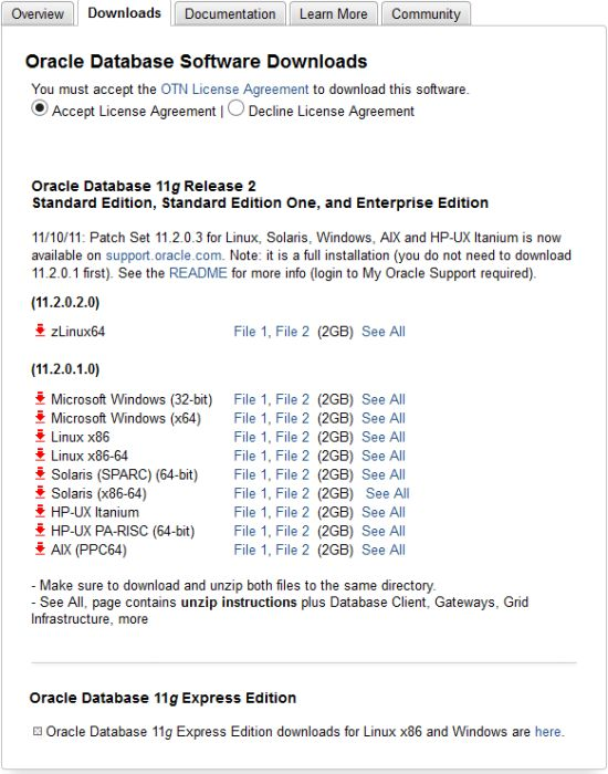 Oracle Database 10g a disparu de nos écrans radars !