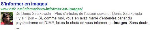 SEO : s'informer en images dans les SERP Google