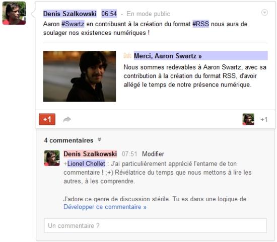 Google+, toujours en dofollow