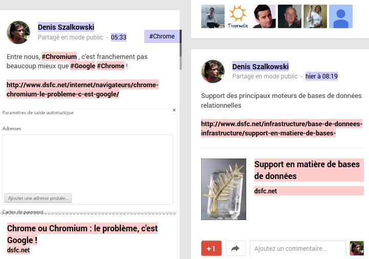 Google+ en nofollow