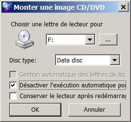 Monter un lecteur virtuel avec WinCDEmu
