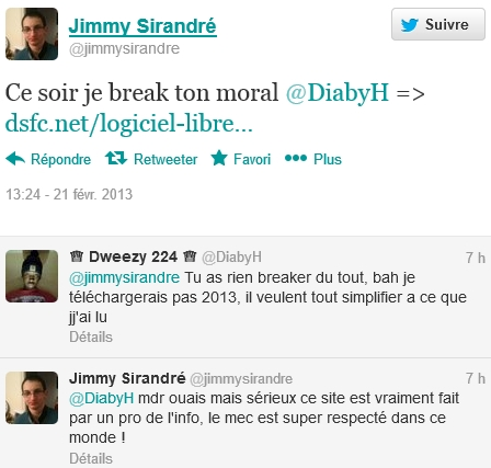 Merci Jimmy !