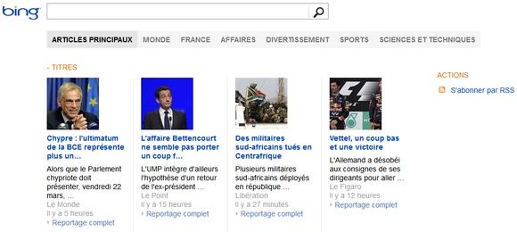Bing News