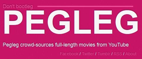 Pegleg : les vidéos des films complets disponibles sur Youtube