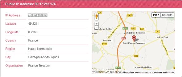 My Location, service gratuit de géolocalisation !