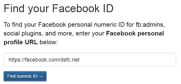 find-your-facebook-id