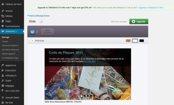 Slidedeck pour un carousel de posts responsive pour WordPress !