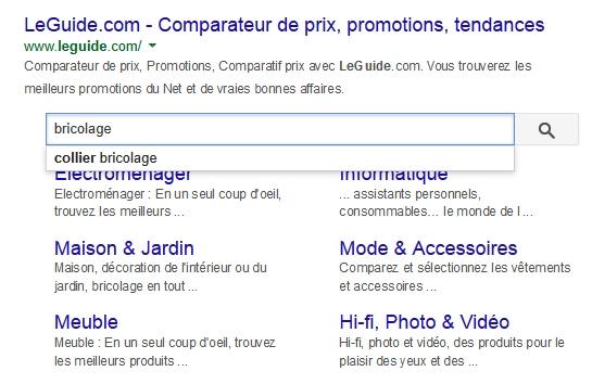 La nouvelle fonctionnalité Search Box dans les SERP de Google