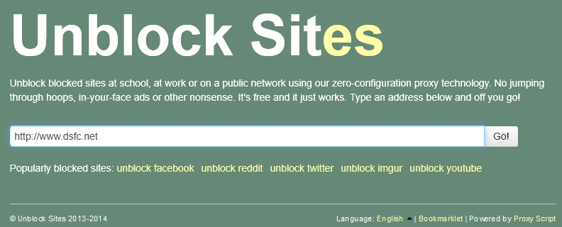 Passer outre les blocages des sites et des proxy