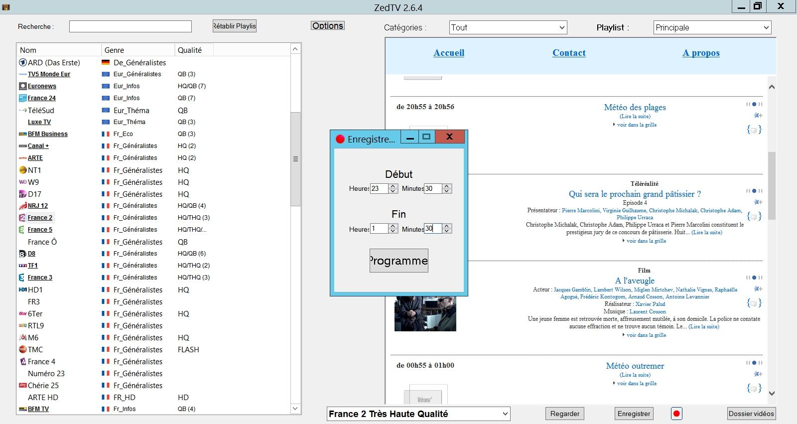 Enregistrer la télévision en direct sur votre PC