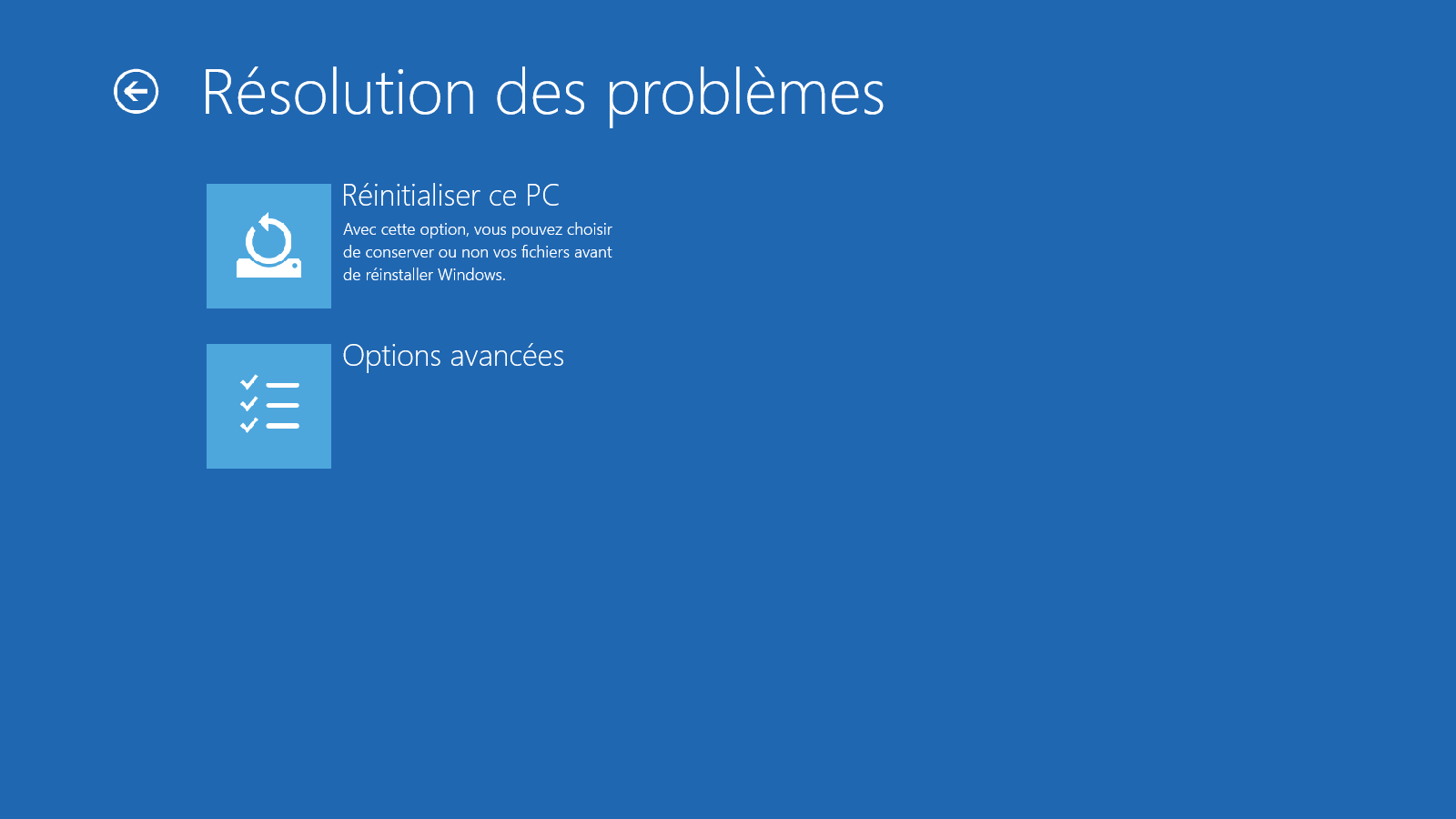 Démarrer Windows 10 en mode sans échec - Etape 3
