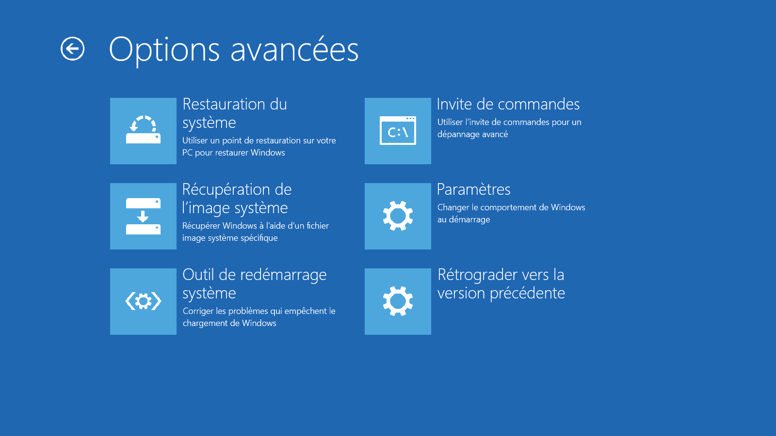 D marrer windows 10 en mode sans chec - Telecharger console de recuperation windows 7 ...