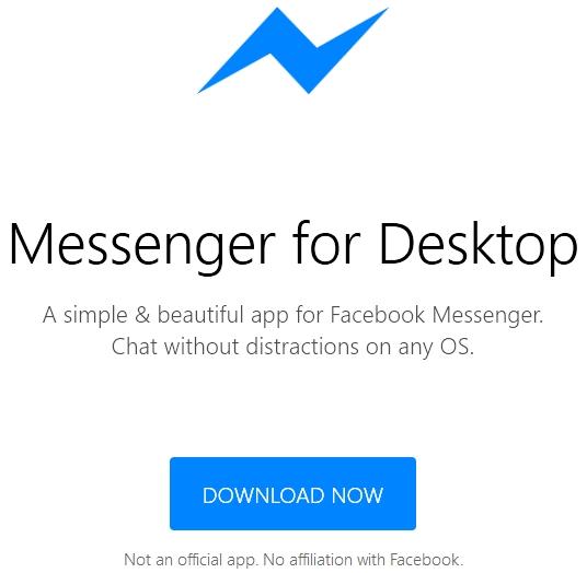 Télécharger Facebook Messenger pour Linux, Mac OS X et Windows