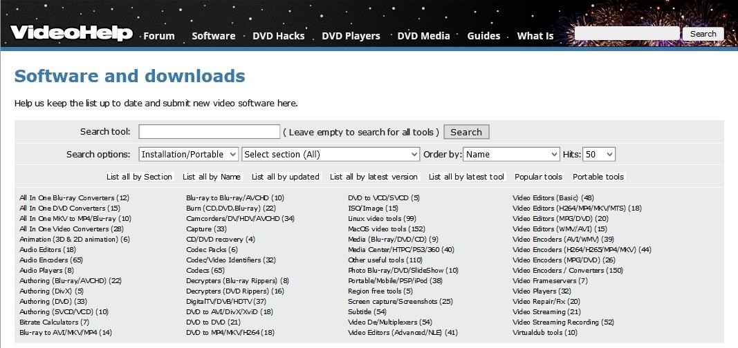 VideoHelp : le site de référence du multimédia et de la vidéo