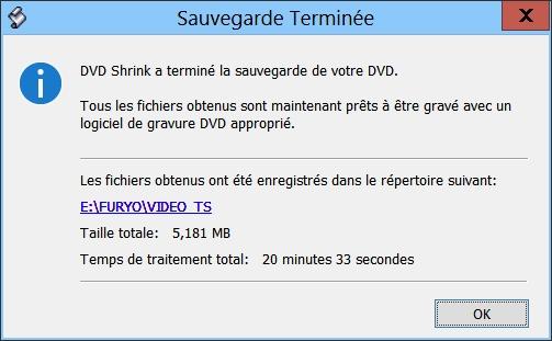 Rip de vos DVD avec DVDShrink