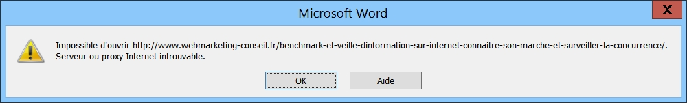 microsoft-word-impossible-ouvrir-serveur-proxy-internet-introuvable