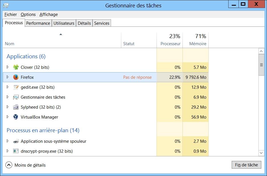 Une couche-culotte pour Mozilla Firefox 64 bit ?