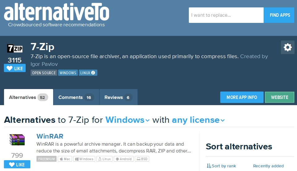 7-Zip, alternative Open Source à WinRAR