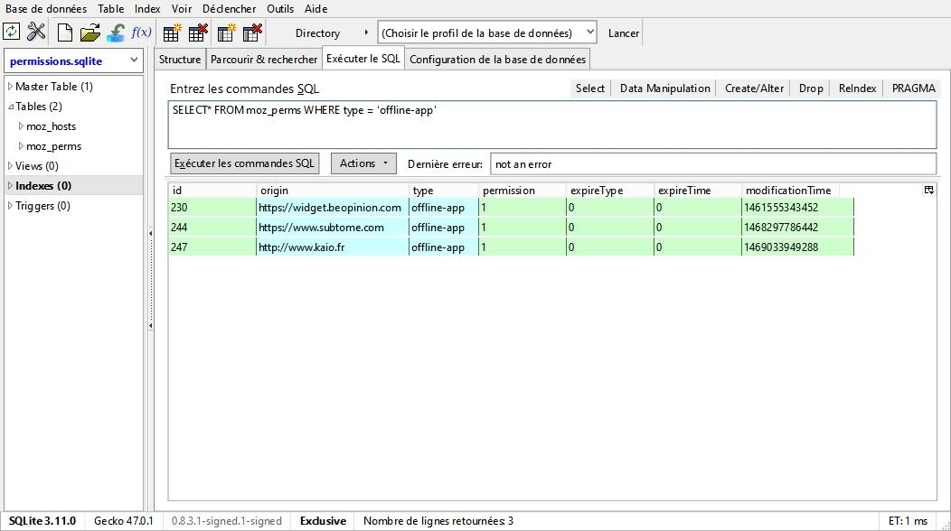 permissions-sqlite-offline-app