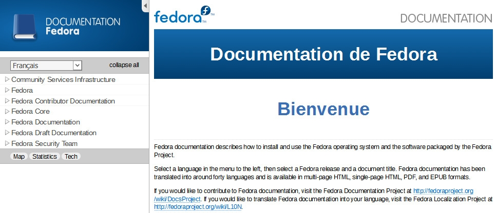 Documentation Fedora