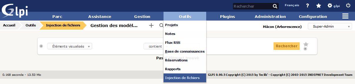 Modèle d'injection de fichiers