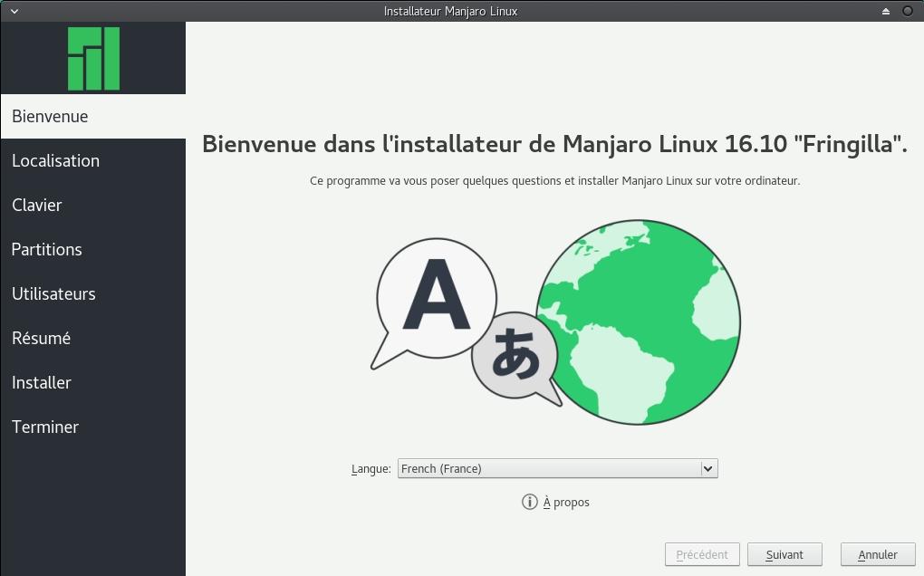 Installation de Manjaro (Arch Linux)