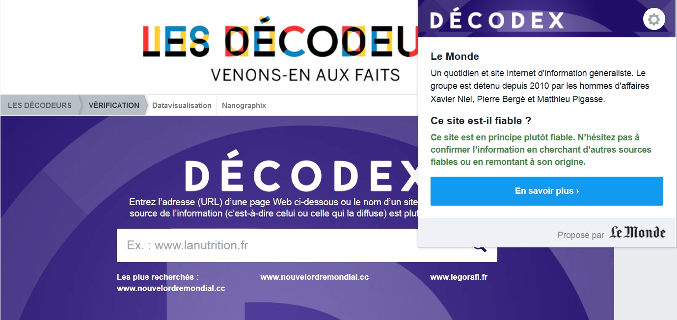 Comprendre le fonctionnement de Decodex