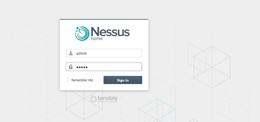 Logon Nessus