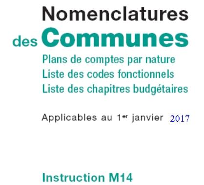 Télécharger la nouvelle instruction M14 pour les communes