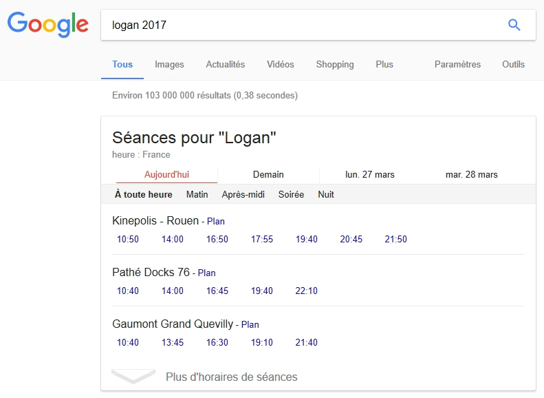 Google et l'avenir des cinémas municipaux
