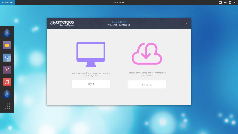 Cnchi, l'installeur graphique de Linux Antergos