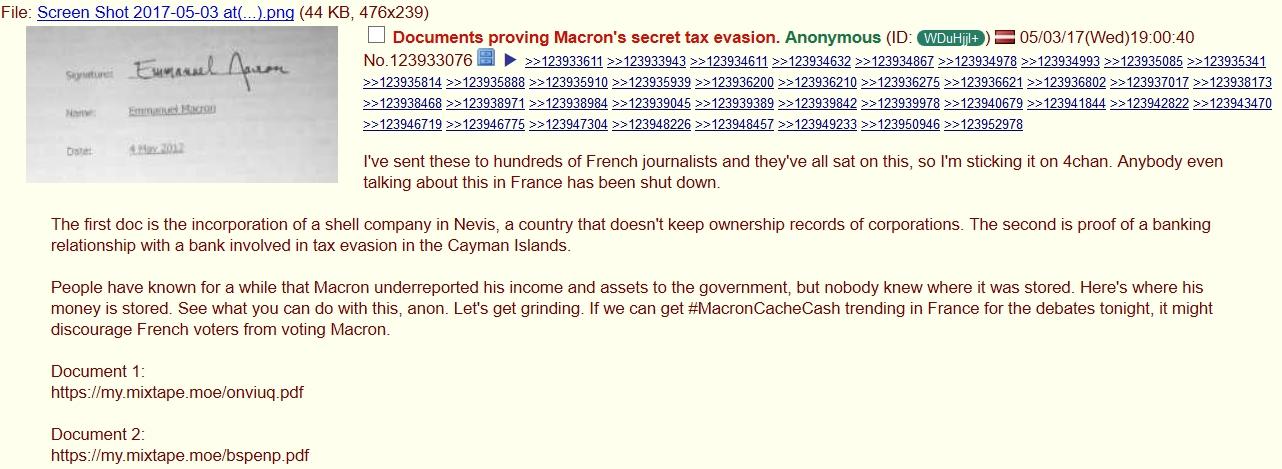 Le compte de Macron aux Bahamas ou la construction d'une Fake News