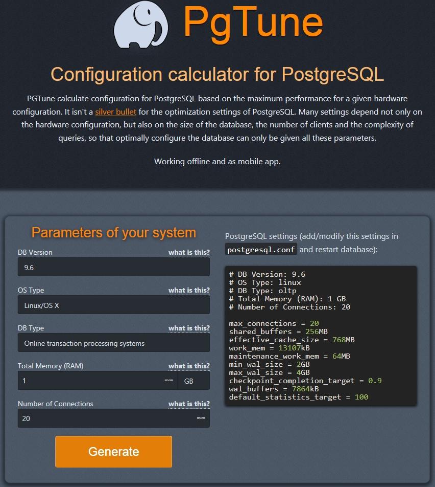 Configuration mémoire pour PostgreSQL sur Linux