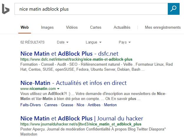 Bing indexe les contenus plus rapidement que Google !