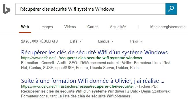 Bing, des résultats fort différents de ceux de Google