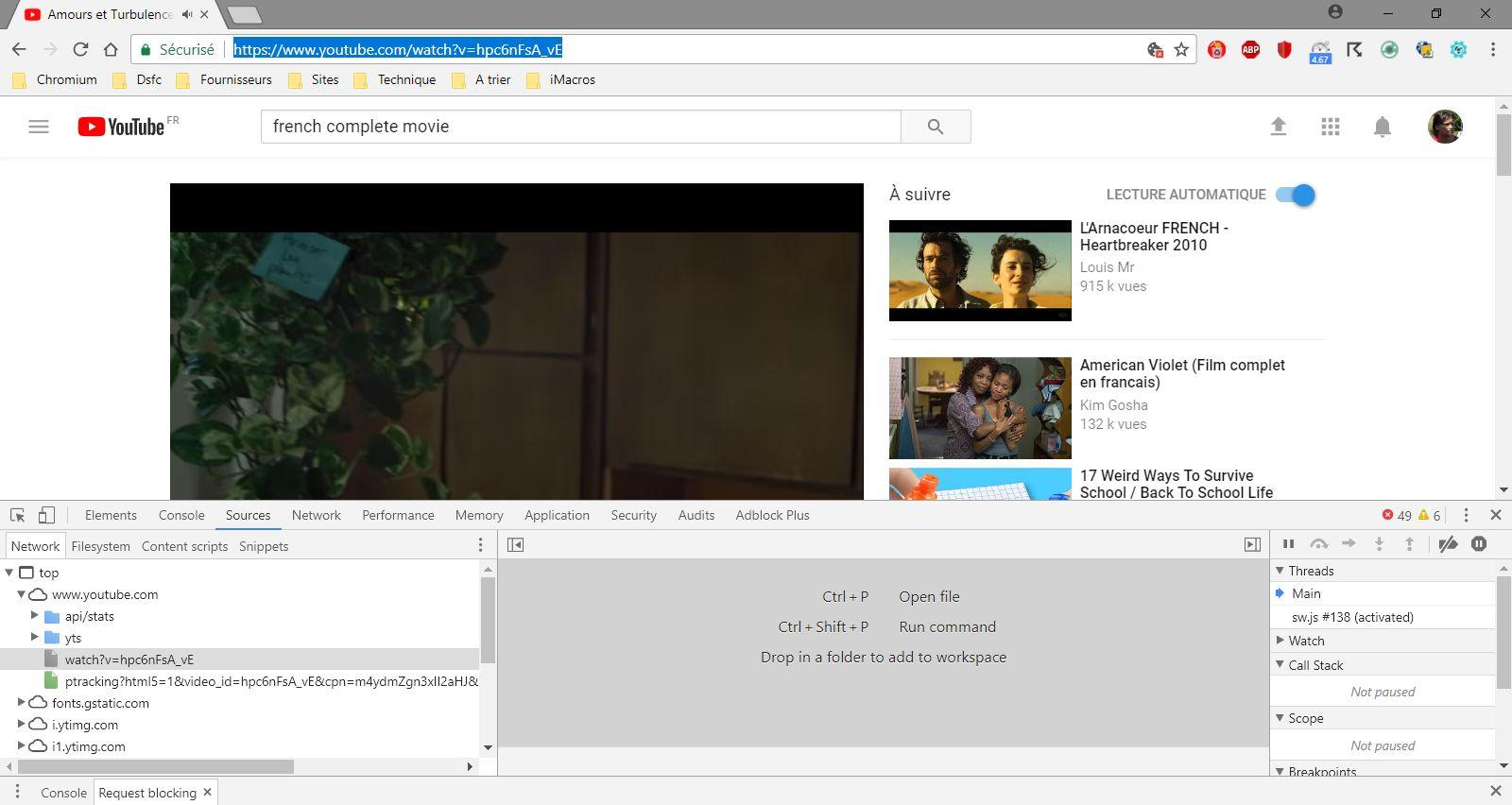 Youtube, pour télécharger les films complets