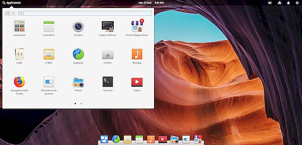 elementary OS et MX Linux : sans grand intérêt