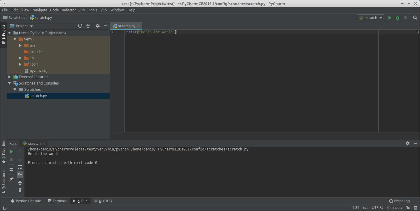 Installer l'IDE PyCharm sur Ubuntu LTS
