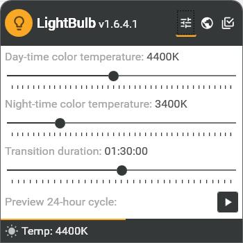 LightBulb > Color Temperature