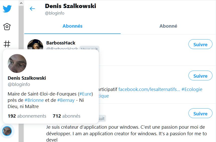 Twitter : un accès rendu difficile à la liste de vos abonnés