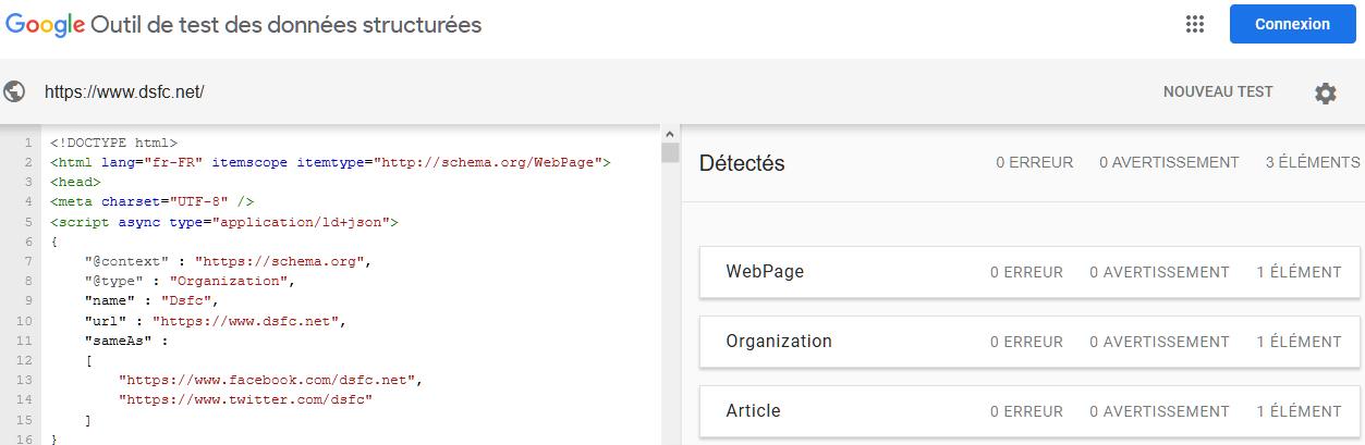 SEO : contrôler les données structurées de vos sites