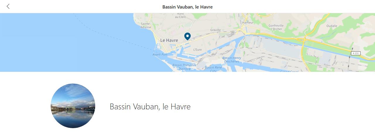 Et voici les photos du Bassin Vauban