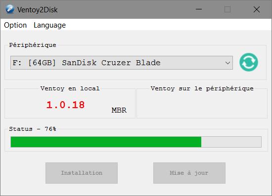Ventoy2Disk