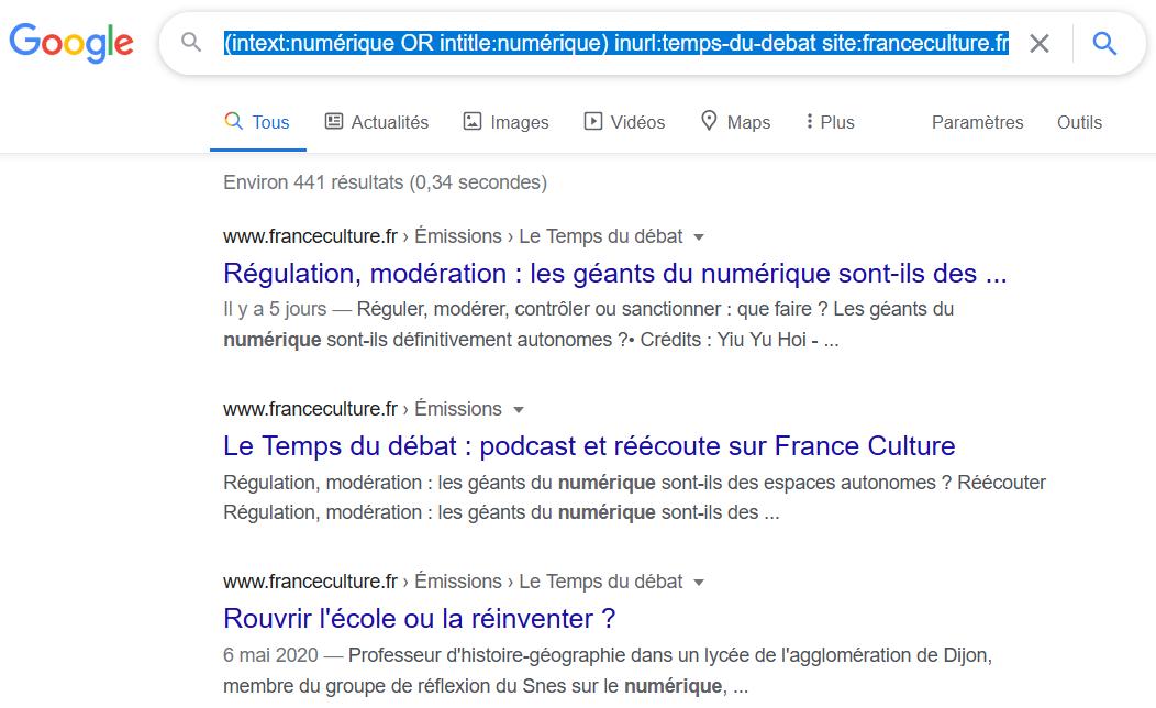 Google Search : des opérateurs pour trouver ce que vous cherchez