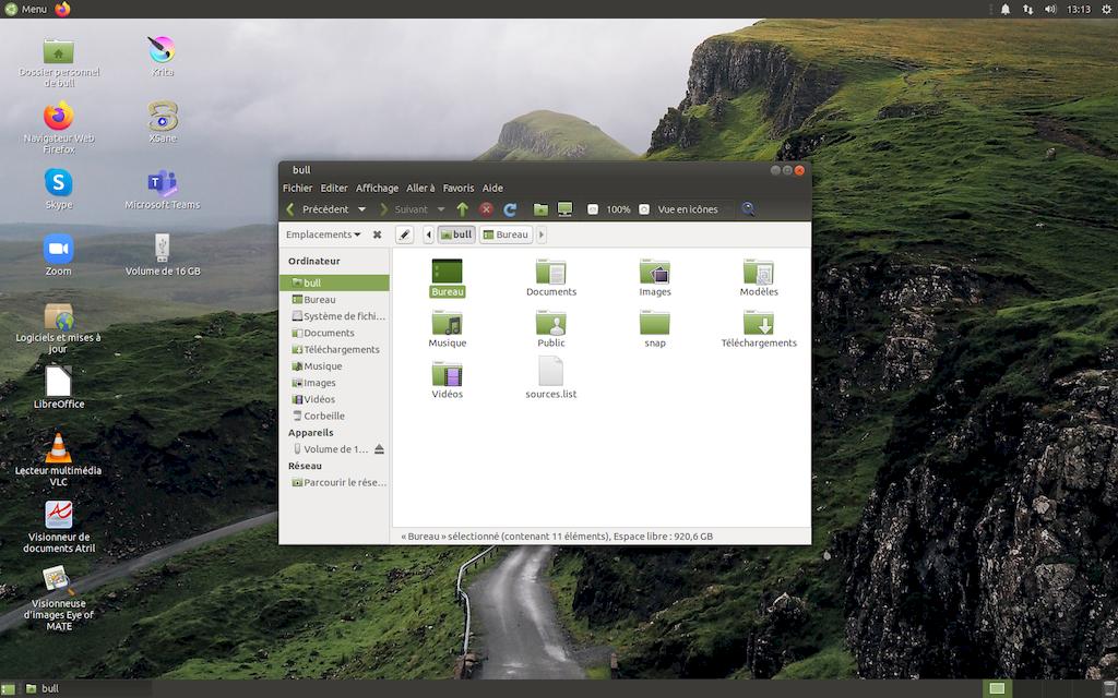 Finalement, Ubuntu Mate