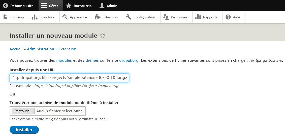 Modules SEO Drupal 9