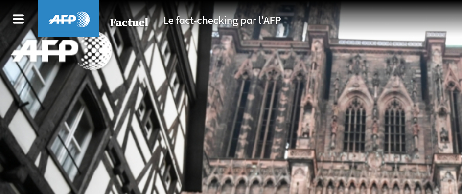 Factuel, le site de fact checking de l'AFP